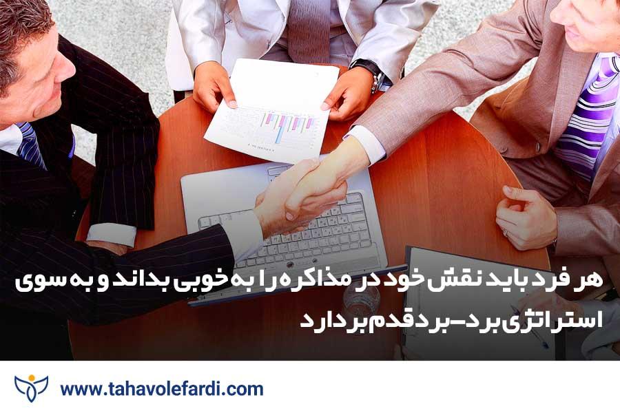 روش هایی برای مدیریت مذاکره